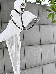 Fantômes blancs d'Halloween fantômes éclatants chambre fantômes pour échapper à l'équipement de l'hommage entier aux accessoires d'horreur