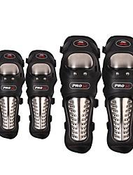 Pro-Biker Motorcycle Protective kneepad  Knee Protector equipment joelheiras de motocross CE Approval Guards racing  Knee Pad elbow pad  Four-piece su