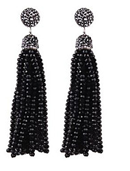 Women's Drop Earrings Tassel Vintage Oversized Fashion Alloy Ball Jewelry For Casual Going out Holiday