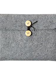 Bolsa de la caja del cuaderno del bolso de la manga del ordenador portátil para el bolso de la cubierta del ordenador portátil del mac 13