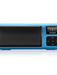 X6 Radio portable Radio FM Enceinte interne Carte SDWorld ReceiverGris Rouge Bleu