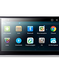 Android 6,0 ​​7 polegadas carro dvd player com quad-core Contexto a9 1.6ghz / rádio / wifi / 4g / gps / rds