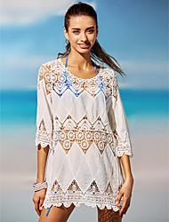 Robes Légères Aux femmes Couleur Pleine Soutien-gorge Sans Rembourrage Licou Polyester / Spandex