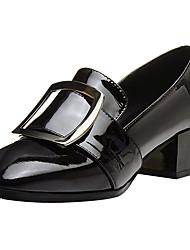 Femme Mocassins et Chaussons+D6148 Confort Escarpin Basique Chaussures formelles Vrai cuir Cuir Automne Hiver Habillé Soirée & Evénement