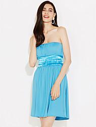 Женская сексуальная Шарм Мини платье без рукавов
