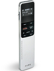 E5860 Digital Voice Recorder Ultra-Thin Metal Professional Lossless External MP3 Noise Reduction Support E-Book TXT
