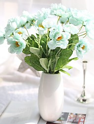 20inch Large Size 20 Heads  Silk Polyester Others Tabletop Flower Artificial Flowers