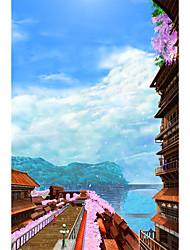Пазлы Пазлы Строительные блоки Игрушки своими руками Китайская архитектура
