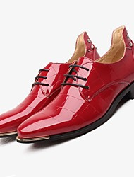 Men's Shoes TPU Fall Winter Formal Shoes Wedding Shoes For Wedding Dress Office & Career Black Navy Blue Red