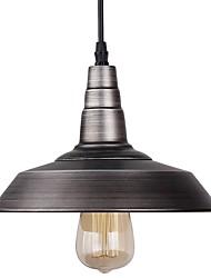 Vintage antique lampe de style léger style country pour barres avec 1 fini peint léger