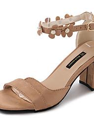Femme Sandales Semelles Légères Cachemire Eté Décontracté Marche Applique Block Heel Noir Rose 5 à 7 cm