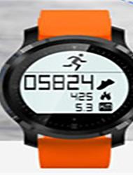 Homme Smart Watch Numérique Silikon Bande Noir Bleu Orange