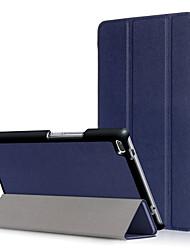 Cubierta de la caja de la PU para la lengüeta 4 del tab4 del lenovo 8 tb-8504f tb-8504n 8504 con el protector de la pantalla