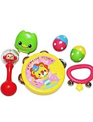 Instrumentos de brinquedo Redonda Inovador kit de bateria Plásticos