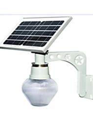 Qx-tzd солнечный светодиодный настенный светильник открытый сад свет встроенный уличный фонарь открытый пейзаж персиковый свет лунный свет