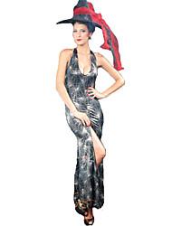 Costumes de Cosplay Bal Masqué Sorcier/Sorcière Ange et Diable Cosplay Fête / Célébration Déguisement d'Halloween Autres Rétro Robes