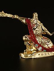 Diy ornements de l'automobile style chinois roman du pendentif des trois royaumes&ornements pvc