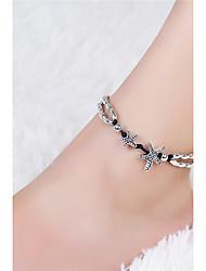 Women's Anklet/Bracelet Vintage Starfish Pendant Yoga Beach Anklet Summer Style Fashion Beads Anklet For Women