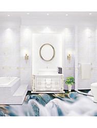 Un Color Fondo de pantalla Para el hogar Moderno / Contemporáneo Revestimiento de pared , Otro Material Auto Adhesivos papel pintado ,