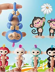 палец мальков детей игрушка обезьяна обезьяна и красочные могут обнимать обезьяны электронной amart touch