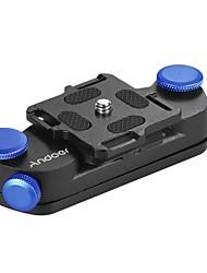 e câmera de metal de liberação rápida cinto de cinto fivela de fivela de grampo de montagem para canon nikon sony dslr camera max.