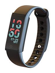 cradmisha x6s banda de pulsera inteligente impermeable bluetooth wristband inteligente tft pantalla de color frecuencia cardíaca monitor