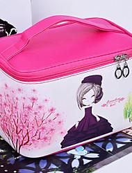 Коробки для бижутерии Хранение косметики Ящик для хранения ювелирных изделий с Особенность является Портативные , Для Общего назначения