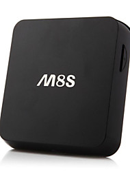 novas m8s Quad Core caixa de tv android4.4 xbmc inteligente totalmente carregado