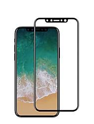 Закаленное стекло Защитная плёнка для экрана для Apple iPhone X Защитная пленка на всё устройство Взрывозащищенный Защита от царапин