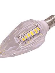 3W LED лампы в форме свечи T 40 SMD 2835 260 lm Тёплый белый Холодный белый AC 220-240 V E14