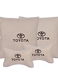 Automobile Kits de coussin de repose-tête et de taille Pour Toyota Toutes les Années Appuie-tête de Voiture Tissus