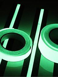 400 * 2 см свечение в темноте светящийся свет лента зеленый флуоресцентный наклейка ночь светящаяся лента полоса деколь украшение для