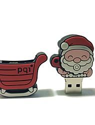 64gb natal usb flash drive cartoon criativo santa claus presente de natal usb 2.0