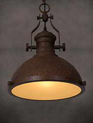 lustres industriels ingénierie du vent nostalgique loft restaurant café bar comptoir unique tête droplight de créatif fer forgé rouille