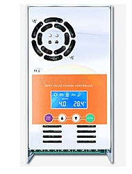 mppt 30a chargeur solaire et contrôleur de décharge 12v 24v 36v 48v auto pour max 190vdc entrée ventilé gel scellé nicd li