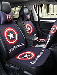 Kapitän Amerika Auto Sitz Kissen Sitzbezug Sitz vier Jahreszeiten General umgeben von einer fünf Sitz Kopfstütze mit 2 Rad-Sets
