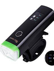 Luces para bicicleta Iluminación Luz Frontal para Bicicleta luces de seguridad LED LED Ciclismo Portátil Profesional Ajustable Soltado
