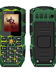 oeina xp1 1.8 teléfono celular de la pulgada (ip68 impermeabilizan la linterna 2500mah del bluetooth)