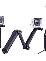 Trépied Extérieur Portable Etui/Housse Pliable Pour Tous les appareils d'action Tous Xiaomi Camera Gopro 5 SJCAM SJ4000 Camping /