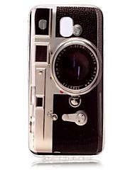 para samsung galaxy j7 (2017) j5 (2017) tpu padrão da câmera hd caso do telefone j3 (2017) j7 prime j5 prime