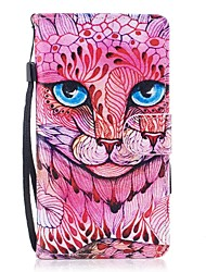 For Case Cover Card Holder Wallet with Stand Flip Magnetic Pattern Full Body Case Cat Hard PU Leather for Huawei Huawei P10 Lite Huawei