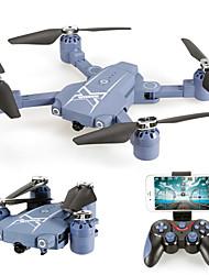 Drone HC629W 4CH 6 Eixos Com 0.3MP HD Camera WIFI FPV Altura segura Retorno Com 1 Botão Auto-Decolagem Acesso à Gravação em Tempo Real