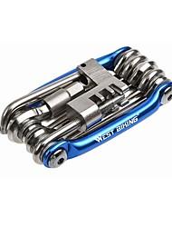 Outils & Kits de Réparation Cyclisme en Montagne Cyclisme sur Route Cyclotourisme Cyclisme Motocross Cyclisme Tournevis Portable Aluminum