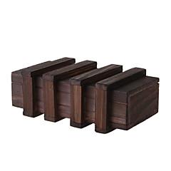 Kouzlo dřevěné krabice s velmi bezpečné tajnou zásuvkou