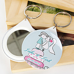 Plast Nyckelrings Favors-12 Piece / Set Nyckelband Fairytale Theme Personlig Rosa / Blå