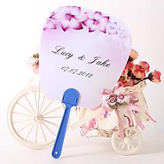 """Plastic Fans and parasols Piece/Set Hand Fans Floral Theme Lilac 10 1/2""""×8 1/2""""×1/2""""(27cmx21.5cmx1.5cm)"""