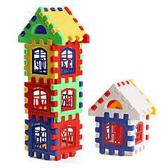 Kleurrijke Bouwblokken Om Huis te Bouwen