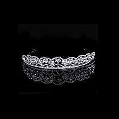 Women's Alloy Headpiece-Wedding / Special Occasion / Outdoor Tiaras Clear Round