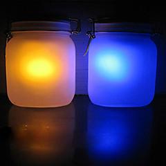 Creative Solar Power Sun Jar (Blue/Orange Shift)