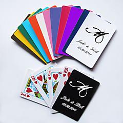 osobní hrací karty - počáteční